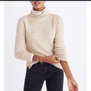 Madewell Inland Sweater in Coziest Yarn